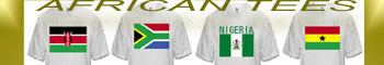 buy african tees, african country t-shirts